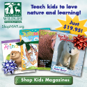 Teach kids to love nature and learning with Award-Winning Magazines from ShopNWF.org - just $19.95!
